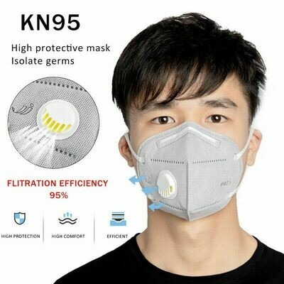 5 Pcs High KN95  Face Mask