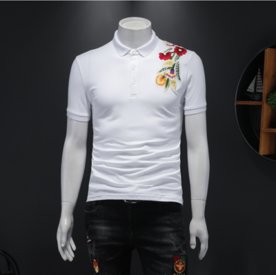 Camisa Polo Slim Fit Hombre Korean Style