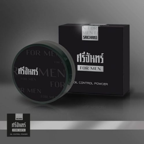 Srichand MEN Oil Control Powder Skin / Maquillaje Ropa Coreana