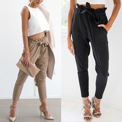 Women Bow Pants / Pantalon Korean Style