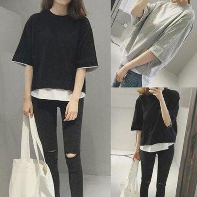 Oversize T-shirt / Camisa Dama Korean Style