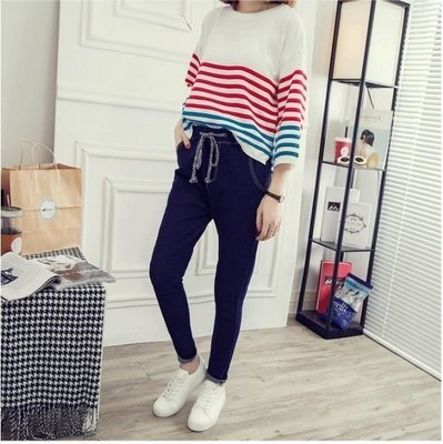 Women Harem Slim Tight Long Elastic Waist  / Pantalon Dama Korean Style