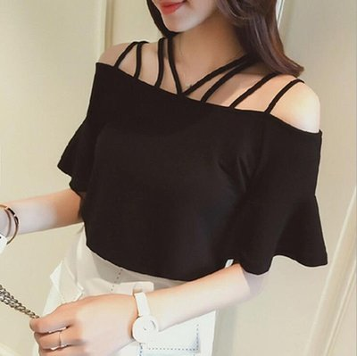Blusa Con Tirantes / Camisa Dama Korean Style