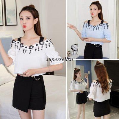 Women Summer Blouse/ Camisa Dama Korean Style