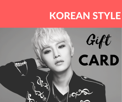 E-Gift Card Korean Style