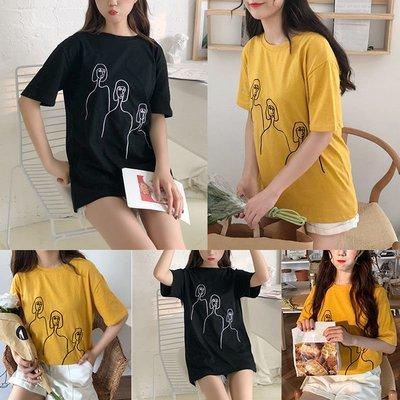 Women T-shirt / Camisa Dama Korean Style