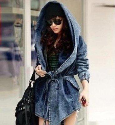 Denim Jacket / Vestido Dama Korean Style