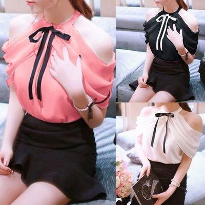 Blouse Sweet Chiffon / Blusa Dama Korean Style