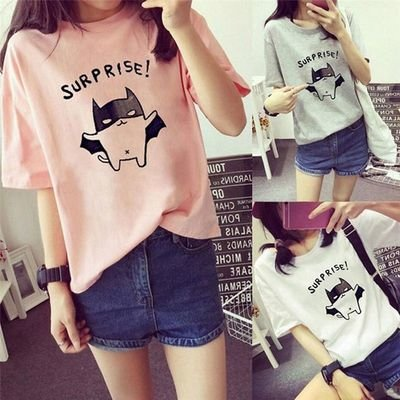 Summer T-shirt / Camisa Dama Korean Style