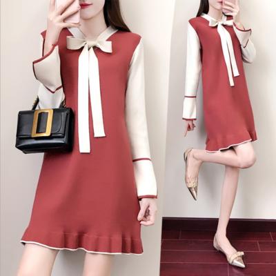 Dress Long Sleeve   / Vestido Dama Korean Style