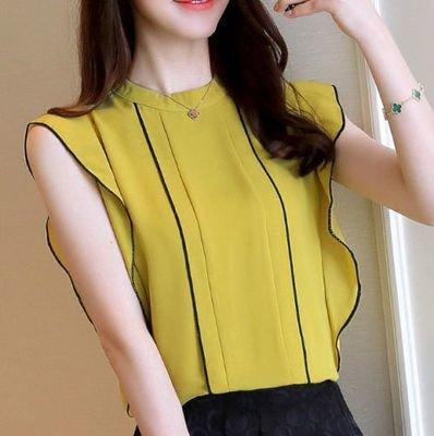 Blusa Manga Olan / Camisa Dama Korean Style
