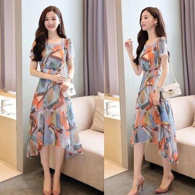 Floral Tunic Party Long Dress  /  vestido Dama Korean Style