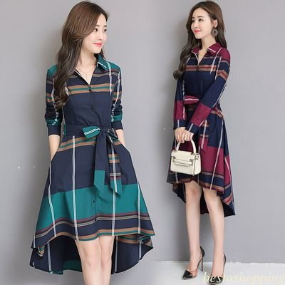 Tunic Party Evening Casual Dress/  vestido Dama Korean Style