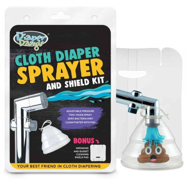 Cold Water Cloth Diaper Sprayer (Toilet) DDCS-30