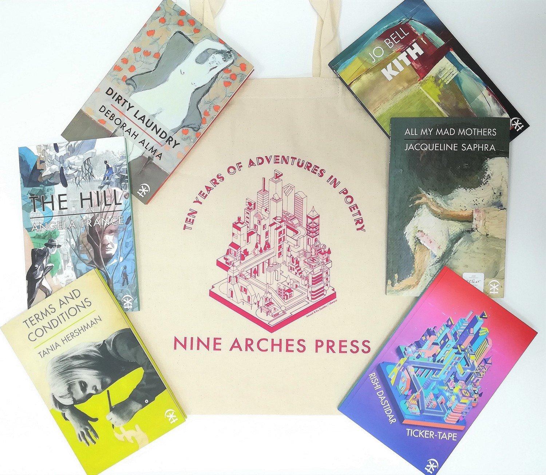 Nine Arches Poetry Book Club membership