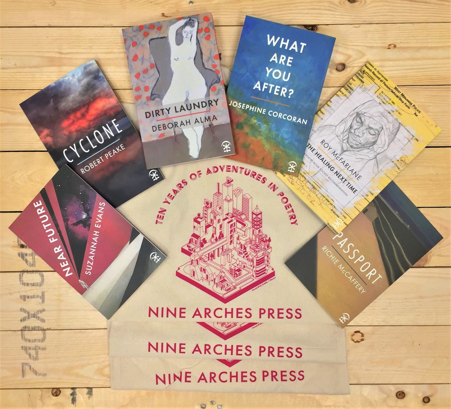 Nine Arches Poetry Book Subscription