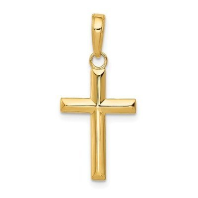 14k Small Cross Pendant