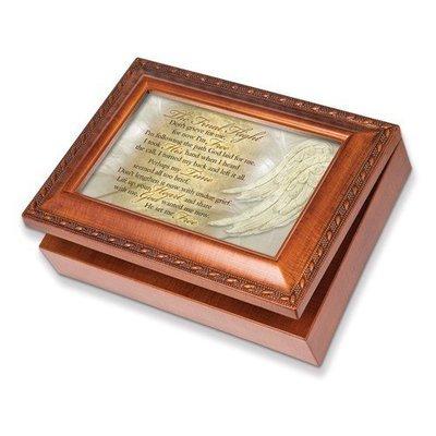 Woodgrain Final Flight Bereavement Inspirational Music Box