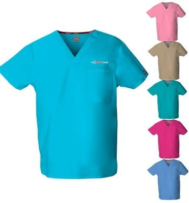Scrub Top - Pastels