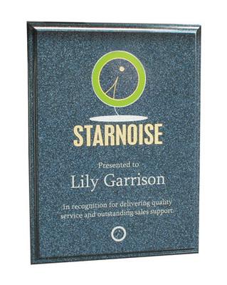 Simstone Sapphire Panel Plaque - 3 Sizes