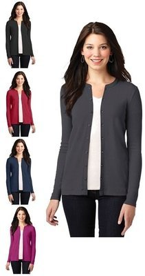 Ladies Button-Front Cardigan