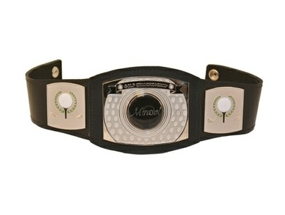 Mini Championship Belt for Golf