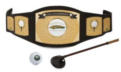 Championship Belt for Golf