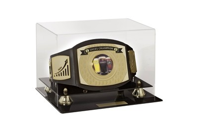 Sales Championship Belt with case