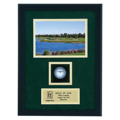 Framed Hole in One Plaque