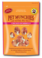 Pet Munchies Chicken Dumbell 80g
