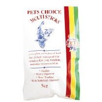 Pets Choice Pond Food Multisticks 5Kg