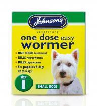 Dog Easy Dose Wormer - Size 1 Small Breeds 3 Tablets