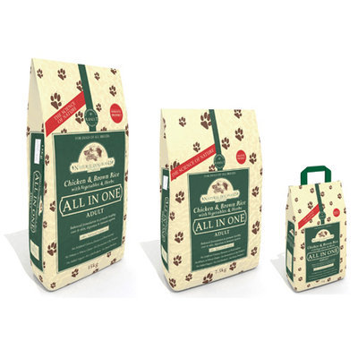 Natural Dog Chicken and Brown Rice 2kg (Adult)