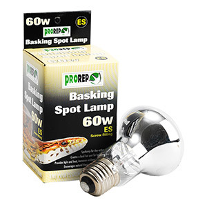 Prorep Basking Spotlamp 60w (Screw Fitting)
