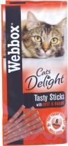 Webbox Cat Treat Beef and Rabbit 6stk