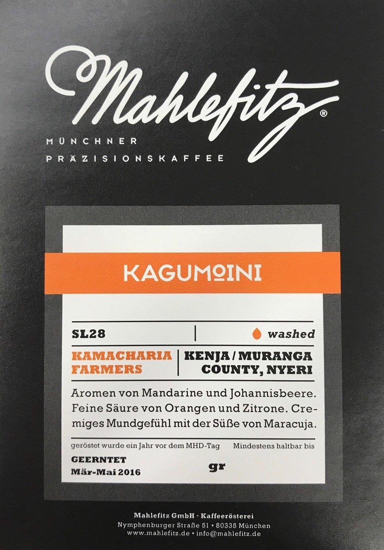 Kagumoini - Kenya/Muranga - Filter Coffee