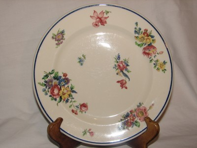 Syracuse China, Old Glory Salad Plate 8 7/8