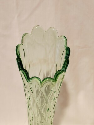 Jefferson Glass, Swung Vase, 11.5