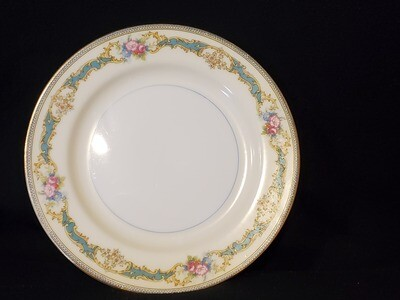 Noritake Gravy Boat With Attached Underplate, Porcelain, Althea pattern,