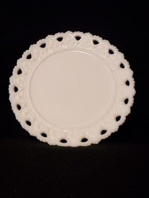 Kemple Milk Glass, Bread & Butter Plate 7 1/4