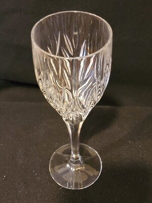 Gorham Crystal, Star Blossom, Wine Glass 8 1/8