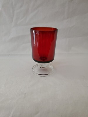 Cavalier Ruby, Wine Glass 4 1/8