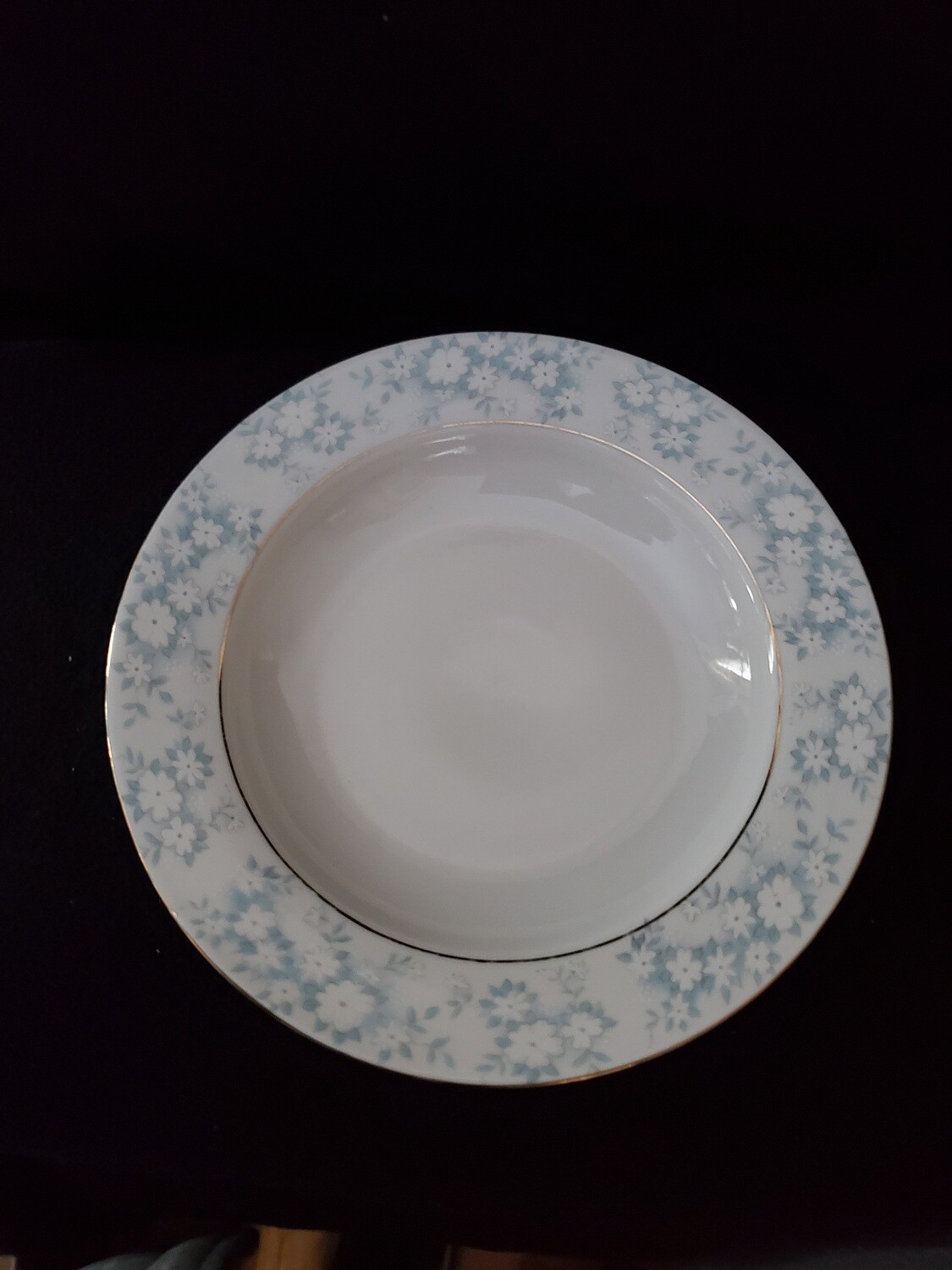 """Montgomery Ward, Rim Soup Bowl, 8 1/2"""" Danube by Style House."""