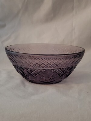 Antique Amethyst Salad Bowl, 5 5/8