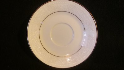 Noritake Ivory China, Saucer, Sorrento Pattern #7565