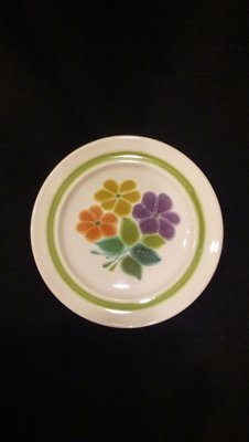 Franciscan Earthenware, Floral Pattern, 8 1/2