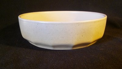 Mikasa Indian Feast, Round Vegetable Serving Bowl, Speckled Biscuit Pattern # DE 850