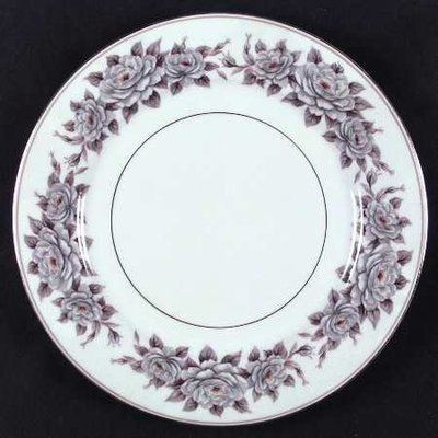 Noritake China Dinner Plate, Pattern 5318, Glenbrook