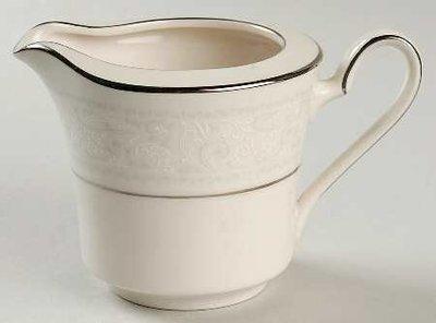 Noritake Ivory China, Creamer, Pattern 7087 Trudy