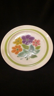 Franciscan Earthenware, Floral Pattern, 10.5